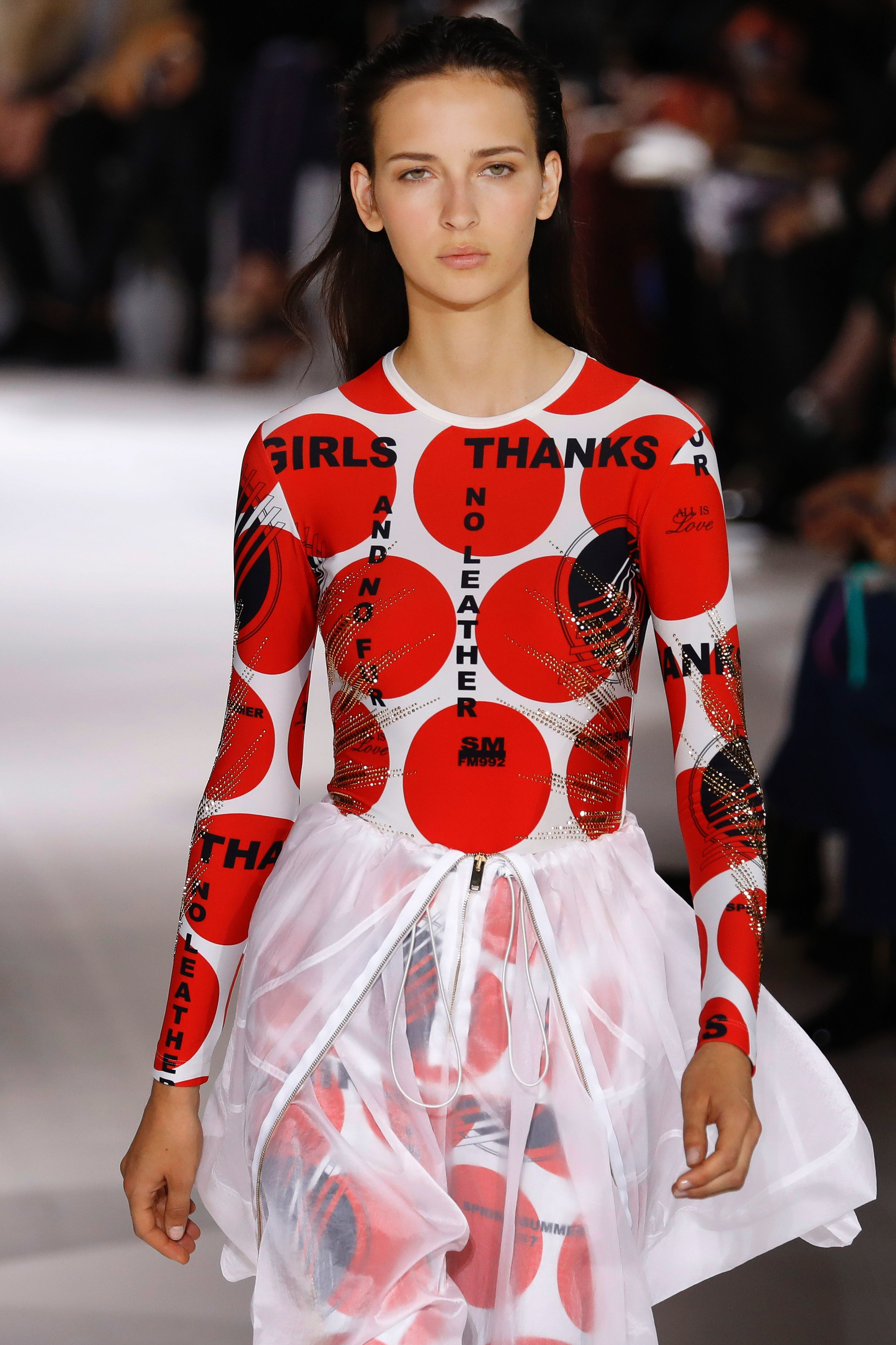 Stella McCartney's Models Wear Her Sustainable Fashion Ethos Close To Their