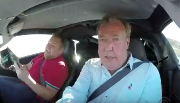 'The Grand Tour' Presenting Team Give James Corden The Ride Of His