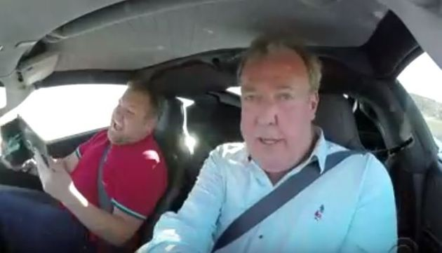 'The Grand Tour' Presenters Jeremy Clarkson, Richard Hammond And James May Take James Corden On The Ride...