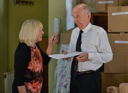 Spoiler! EastEnders' Pam And Les Prepare To Leave Walford Behind