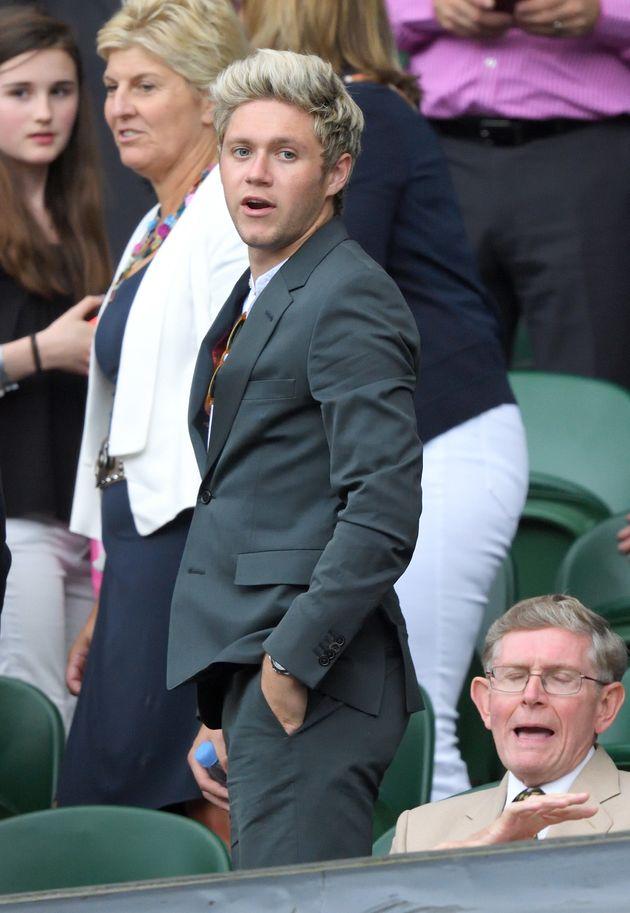 Niall Horan at Wimbledon in
