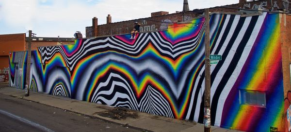 These Artists Turned A Whole Neighborhood Into Their Canvas