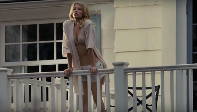 Haley Bennett is Megan, a beautiful woman with whom Rachel becomes