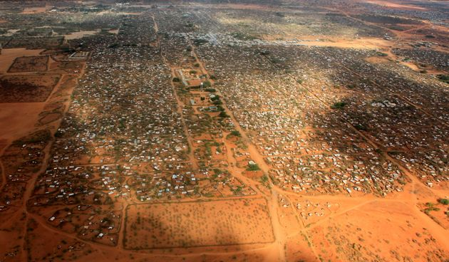 About 350,000 people live in Kenya's Dadaab refugee camp, the largest in the