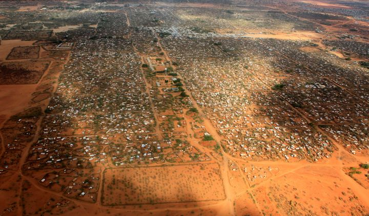 About 350,000 people live in Kenya's Dadaab refugee camp, the largest in the world.