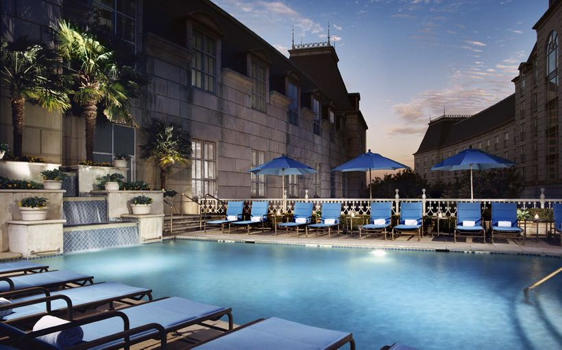 Hotel Crescent Court — Uptown Dallas, Texas