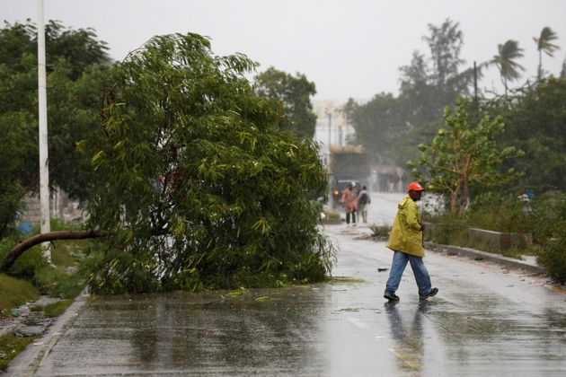 Hurricane Matthew Hits Haiti, Sparking Floods And Power