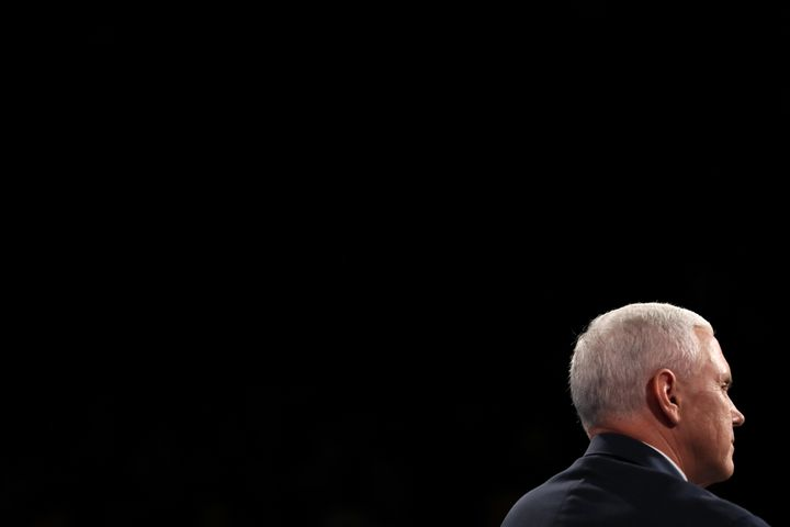 GOPvice presidential nominee Mike Pence presented a baseless argumentduring Tuesday'sdebate that implicit b