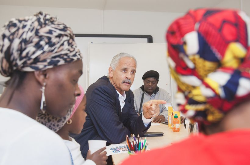Stedman Graham during one of his Identity and Identity Leadership sessions at MaDi.