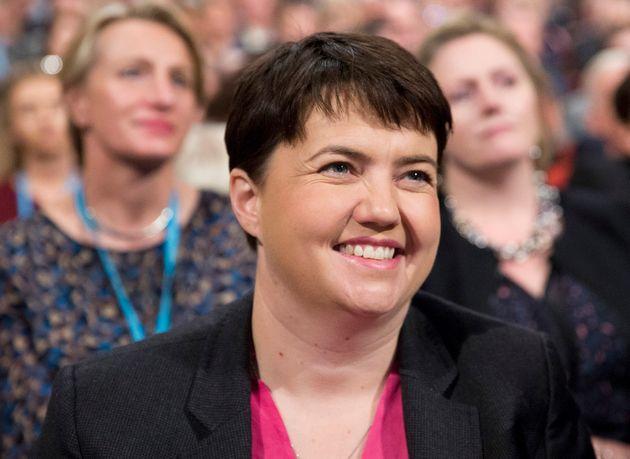 Ruth Davidson said she wanted a piece of the Strictly