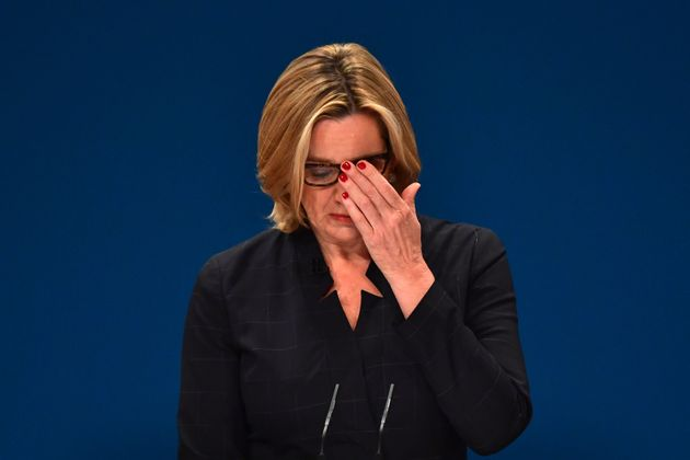 Amber Rudd was branded a 'jackboot overlord' for suggesting companies should be forced to reveal how...