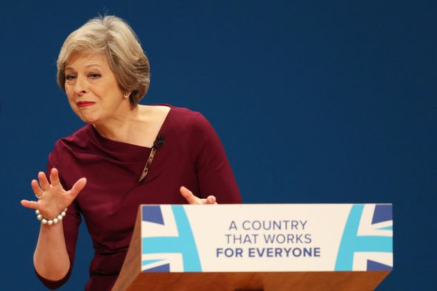 Theresa May Only Namechecks Remainer MPs In Conference