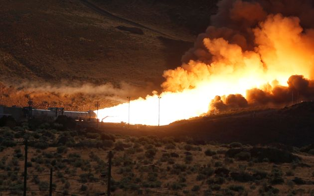 Testing of the SLS's rocket systems has already begun in