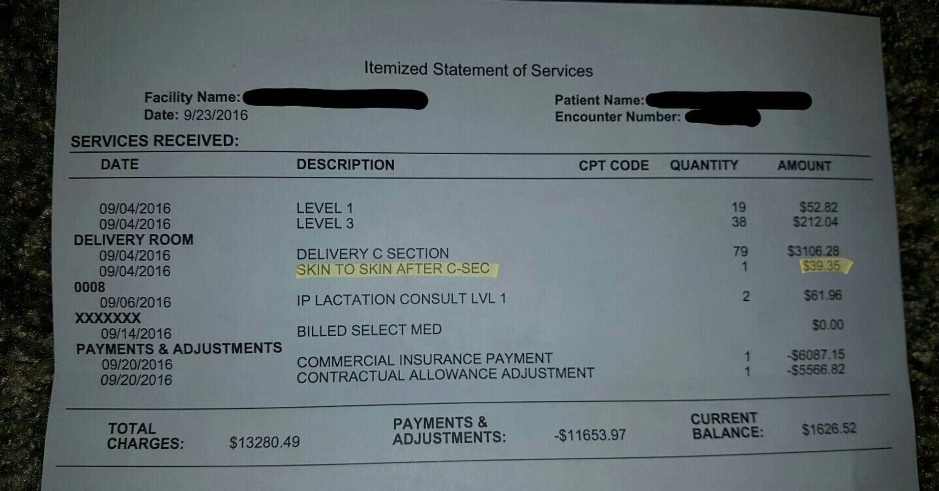 This Is Why That Hospital Charged A Family $40 To 'hold' Their Newborn Baby   Huffpost
