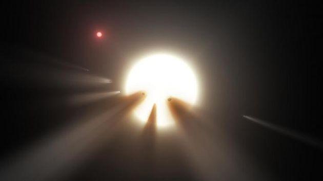 「暗くなる星」謎さらに深まる 「彗星が横切る」?「エイリアンが設計」?