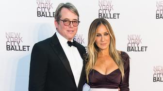 NEW YORK, NY - SEPTEMBER 20:  Actor Matthew Broderick and actress, producer, designer, Sarah Jessica Parker attend the New York City Ballet 2016 Fall Gala at David H. Koch Theater at Lincoln Center on September 20, 2016 in New York City.  (Photo by Gilbert Carrasquillo/FilmMagic)