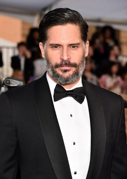 Is it weird to call Manganiello a stallion? Who cares. His mane is as glorious as those of the finest thoroughbreds.