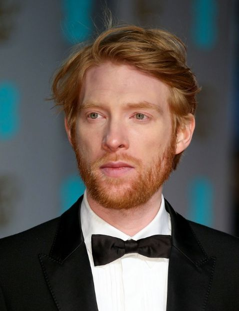 When it comes to redheads, Gleeson is king and a master of the messy swoop.