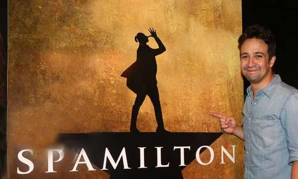 """""""Spamilton""""? That's not your musical, Lin!"""
