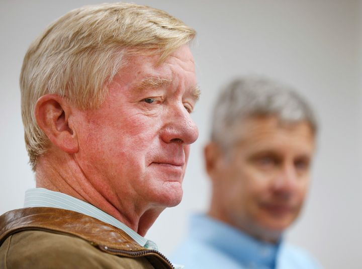 William Weld made clear what his worst-case scenario is.
