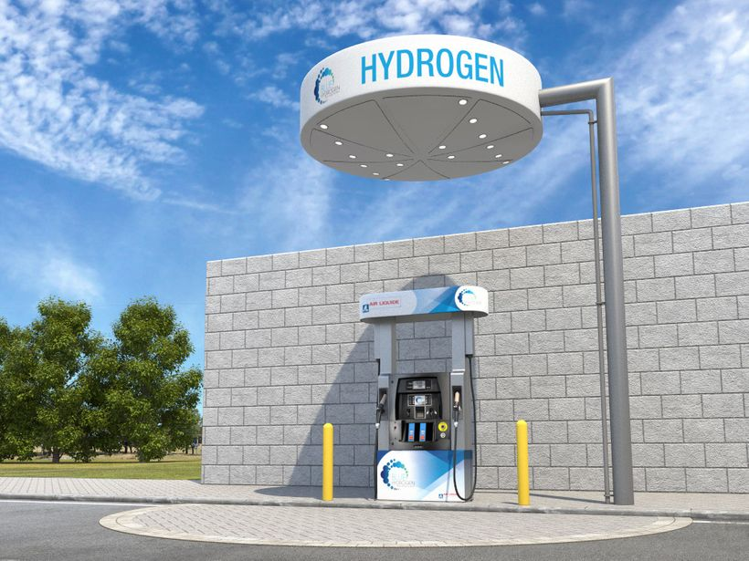 Concept design of Air Liquide H2 station