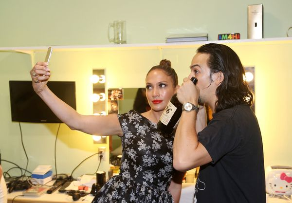 Only J.Lo knows just how cute he was in that moment.