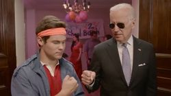 Joe Biden Goes Undercover To A Party To Talk About Sexual