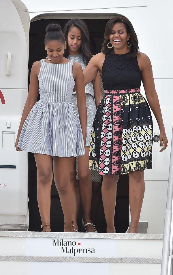 Sasha Obama 2016 Outfits