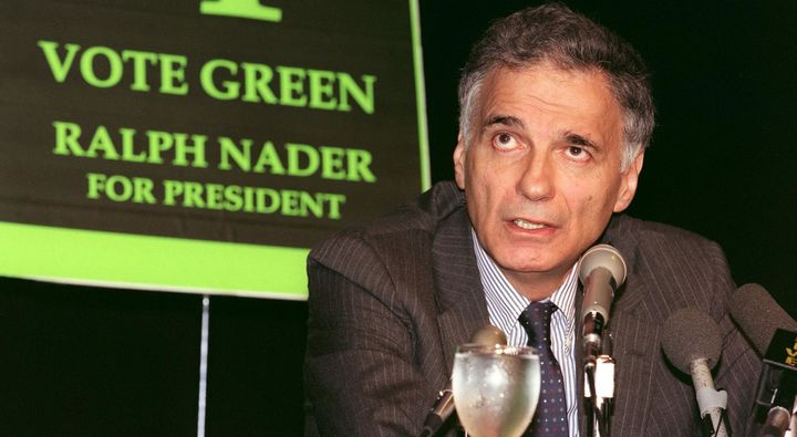 In 2000, Ralph Naderwas the hope for many liberalsunhappy with the Clinton administration and everyone associated