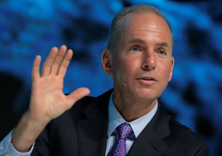 Boeing CEO Dennis Muilenburg announced his company will reach Mars before SpaceX does.