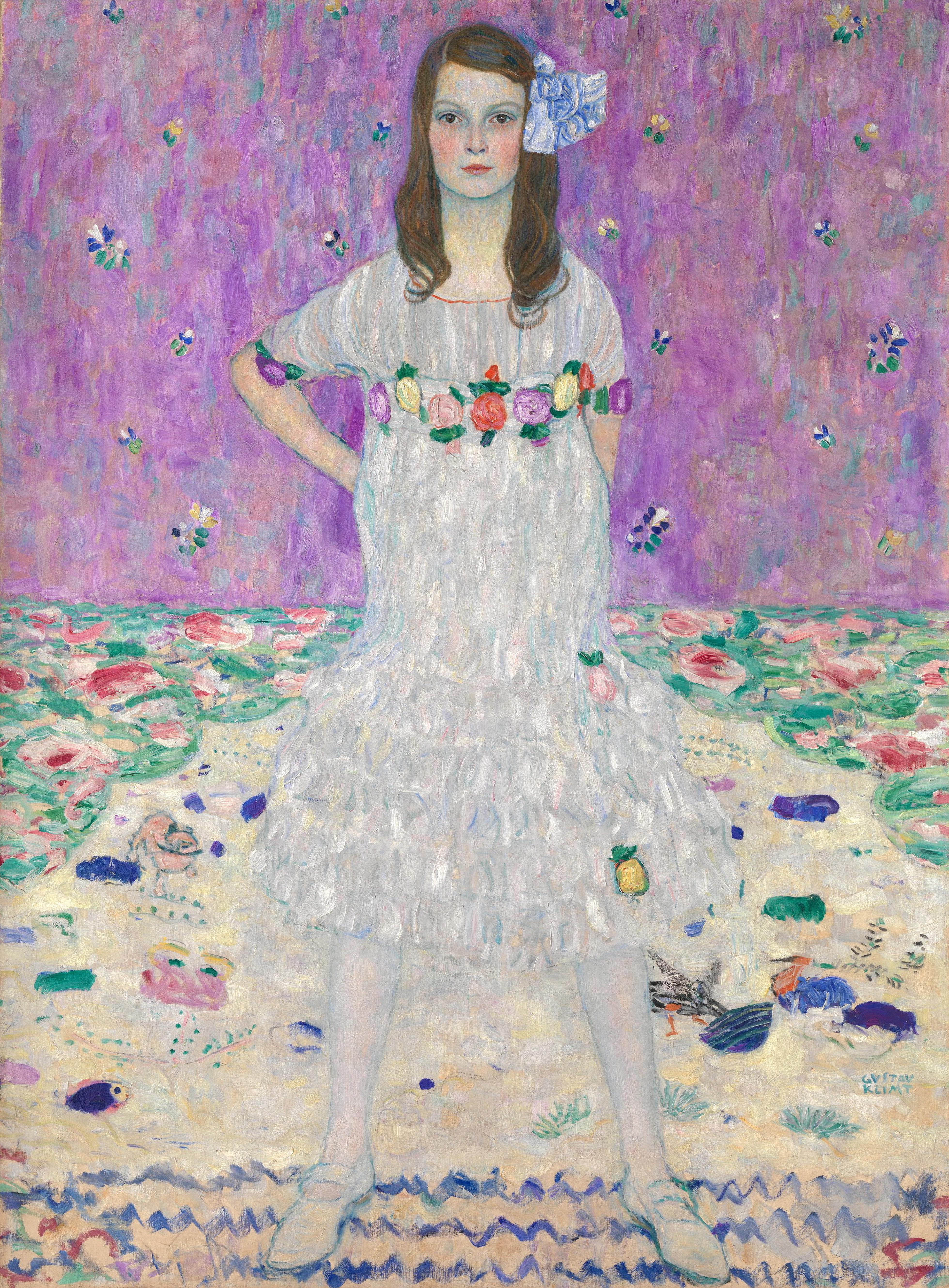 クリムトが描いた「9歳の少女」誕生物語