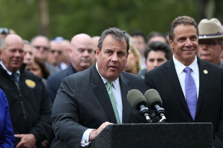 New Jersey Gov. Chris Christie (R) was reportedly unhappy in 2012 when a fellow Republican made fun of his weight.