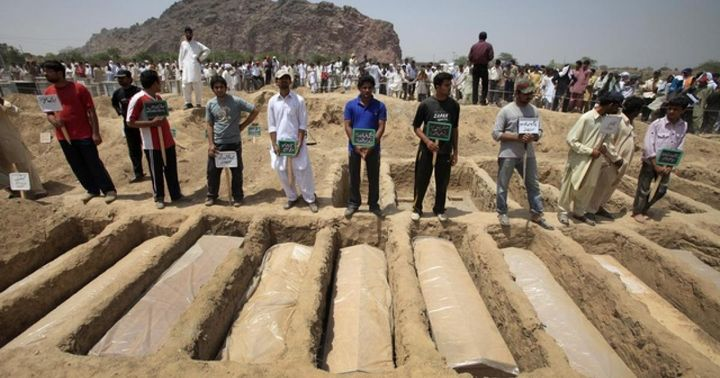 In twin attacks by the Taliban, 86 Ahmadi Muslims were gunned down in Lahore, Pakistan in May of 2010