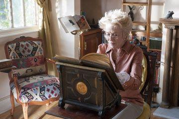 Holland Taylor portrays Ella's formidable grandmother, Violet von Stern in a scene Kepler's Dream