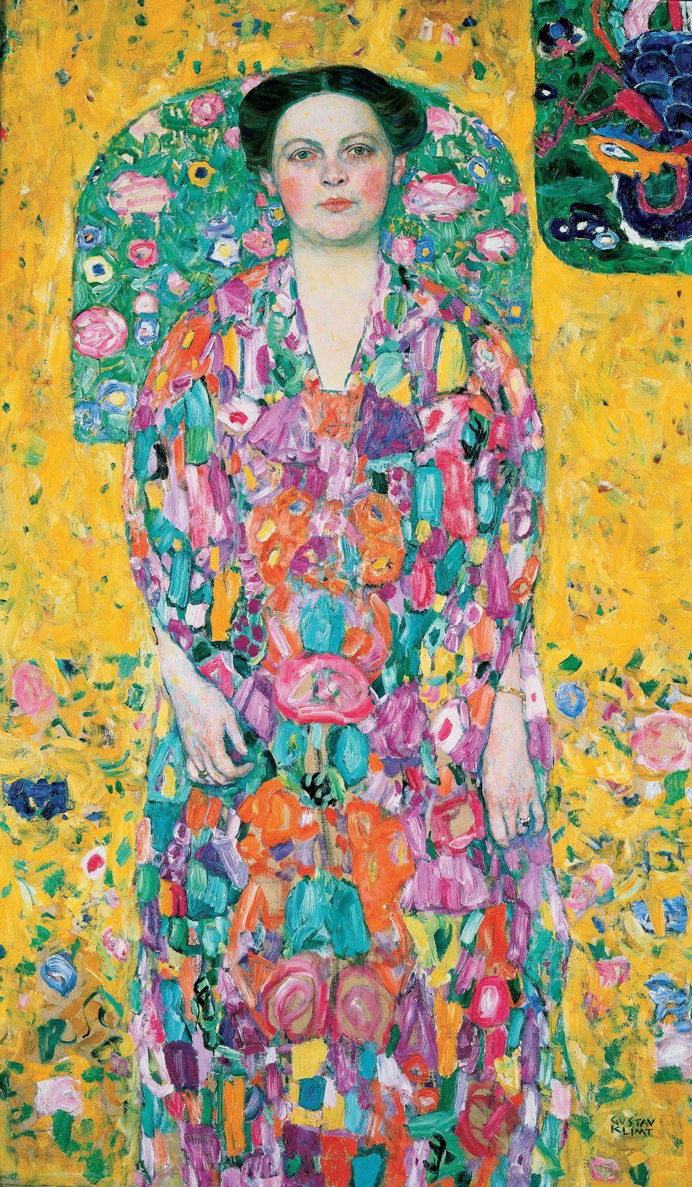 Eugenia Primavesi, painted by Gustav Klimt.