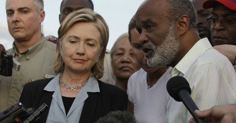the clinton foundation s legacy in haiti haitians are more than