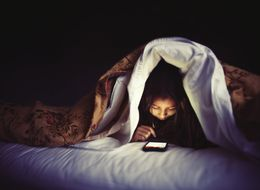 Kids As Young As 9 Check Phones 10 Times A Night
