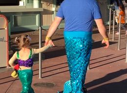 This Dad Did The Cutest Thing For His Daughter At Disneyland