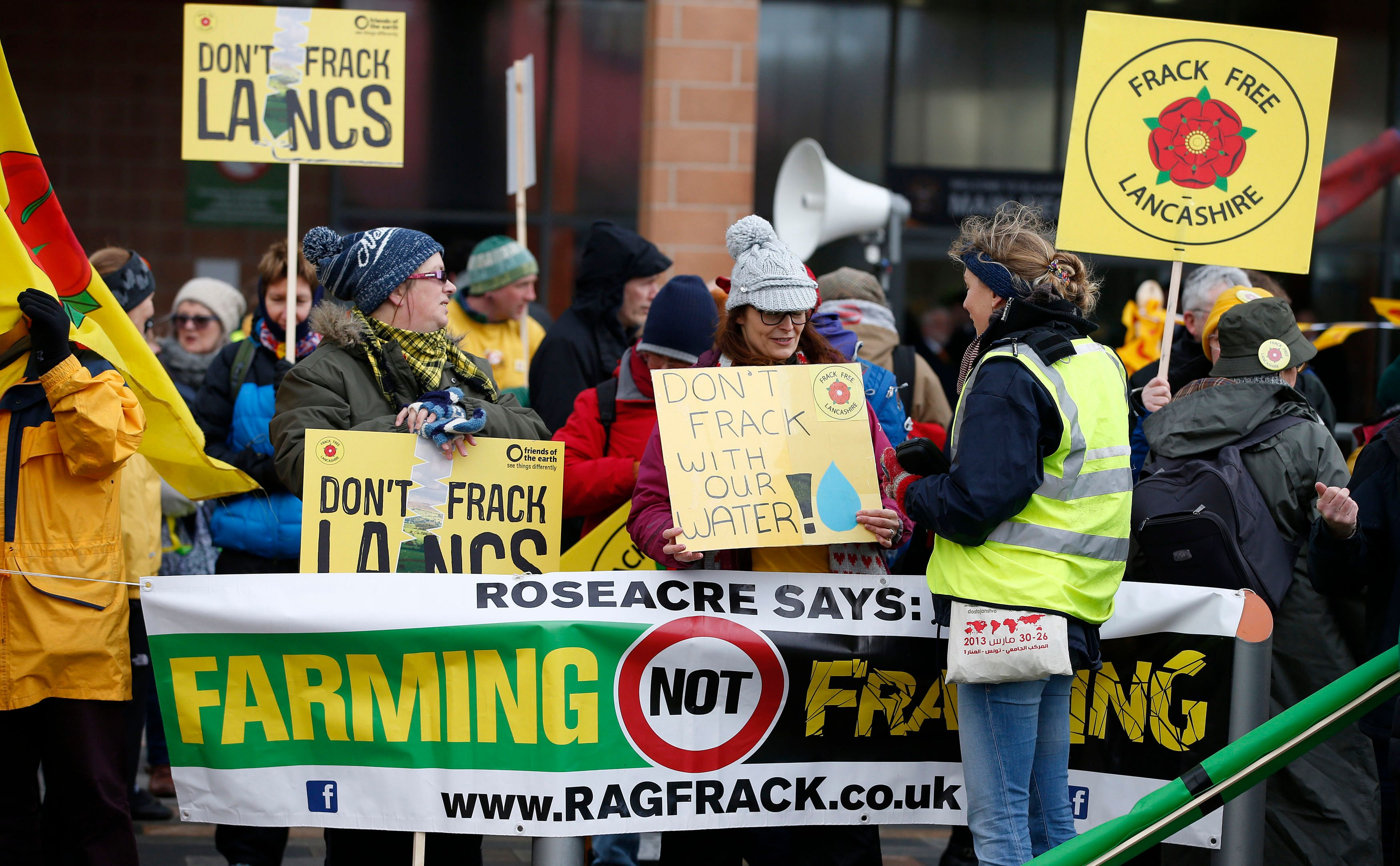 Fracking Is Coming To Lancashire Despite Massive