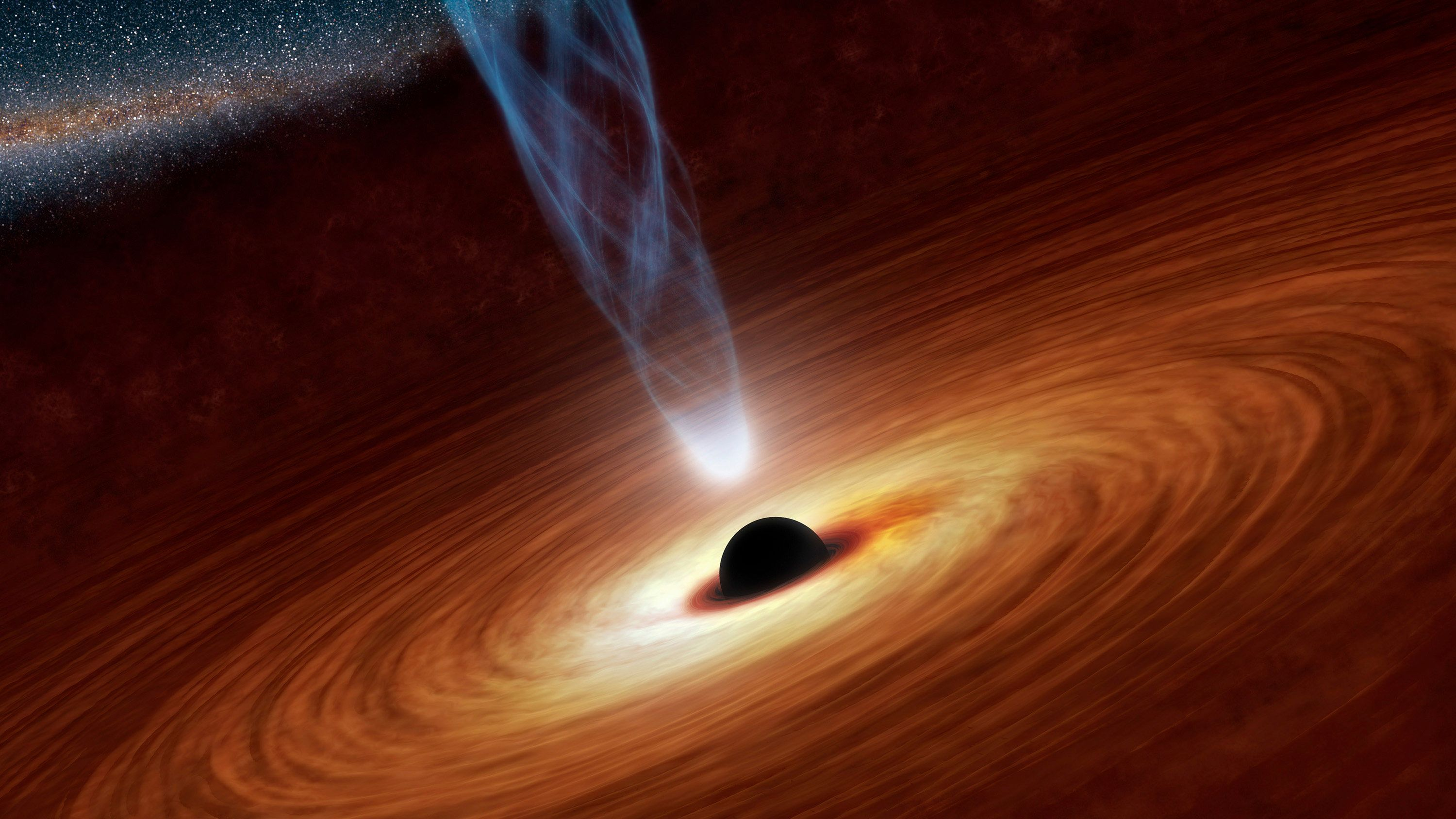 A Supermassive Black Hole Has Broken Free And Is Now Destroying