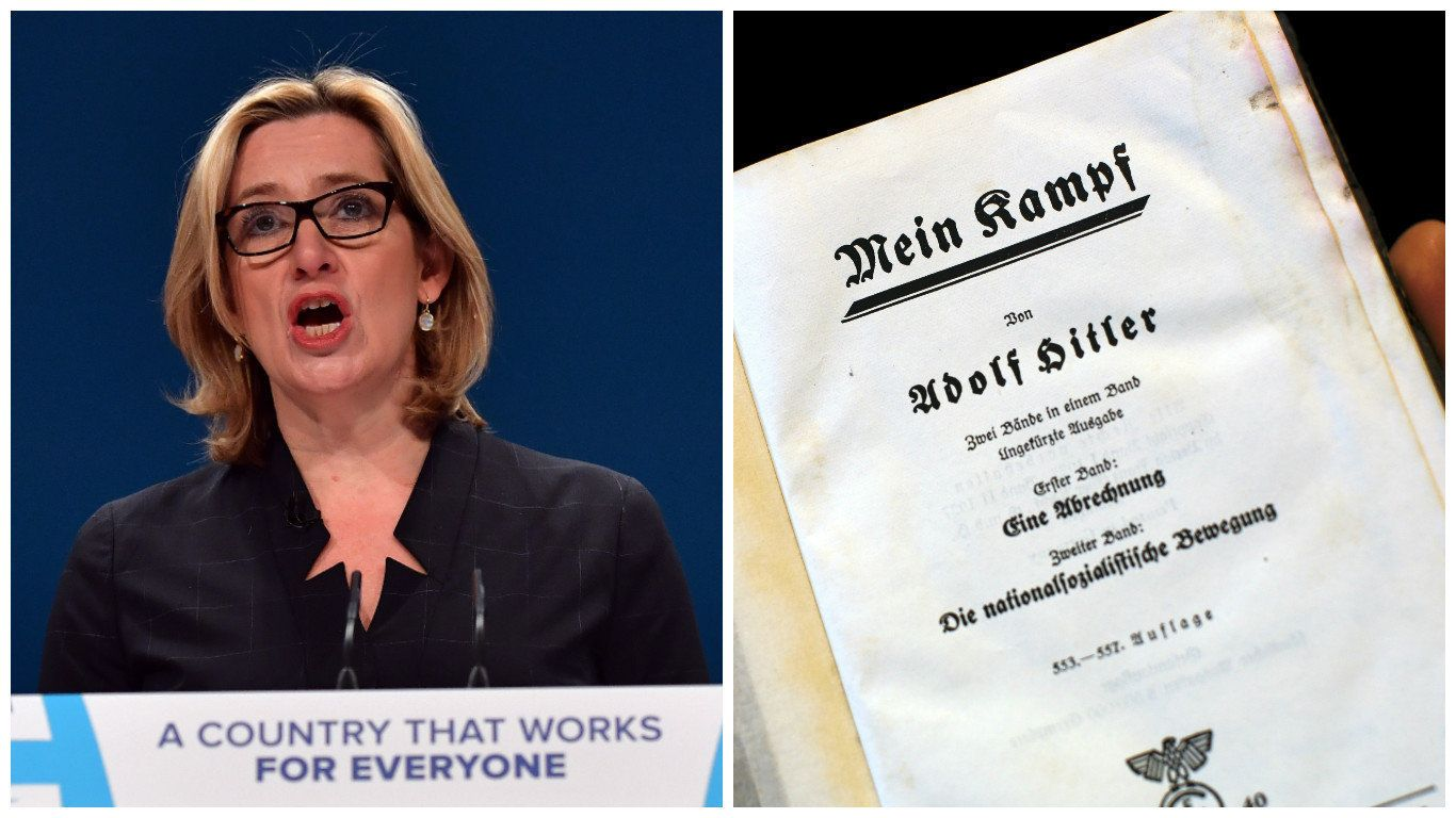 James O'Brien Asks Listeners To Spot Difference Between Mein Kampf And Amber Rudd's