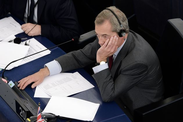 Farage said he 'deeply regretted' the