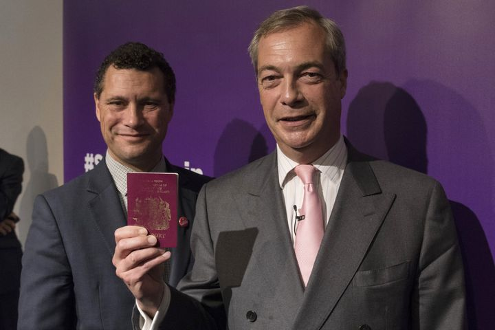 Woolfe was tipped to replace Farage until he failed to submit nomination papers on time