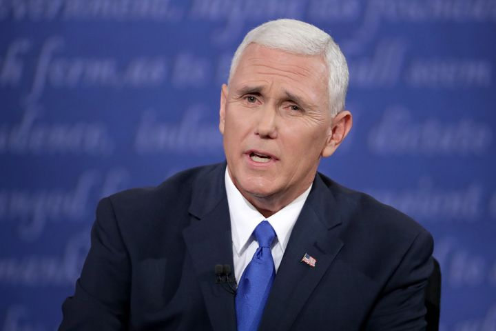 Indiana Gov. Mike Pence (R) criticized Republican presidential nominee Donald Trump over his Muslim ban proposal, but that wa