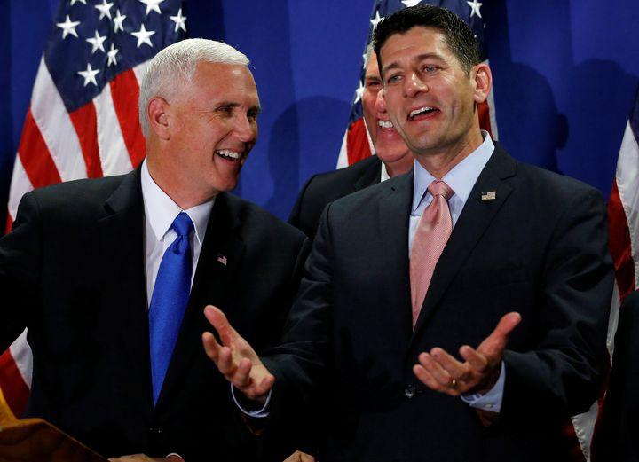 Paul Ryan, basically: Donald Trump says awful, awful things. I endorse that guy!