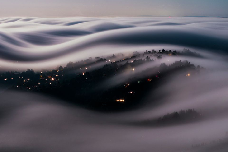 This Fog Blanket Over San Francisco Looks Completely