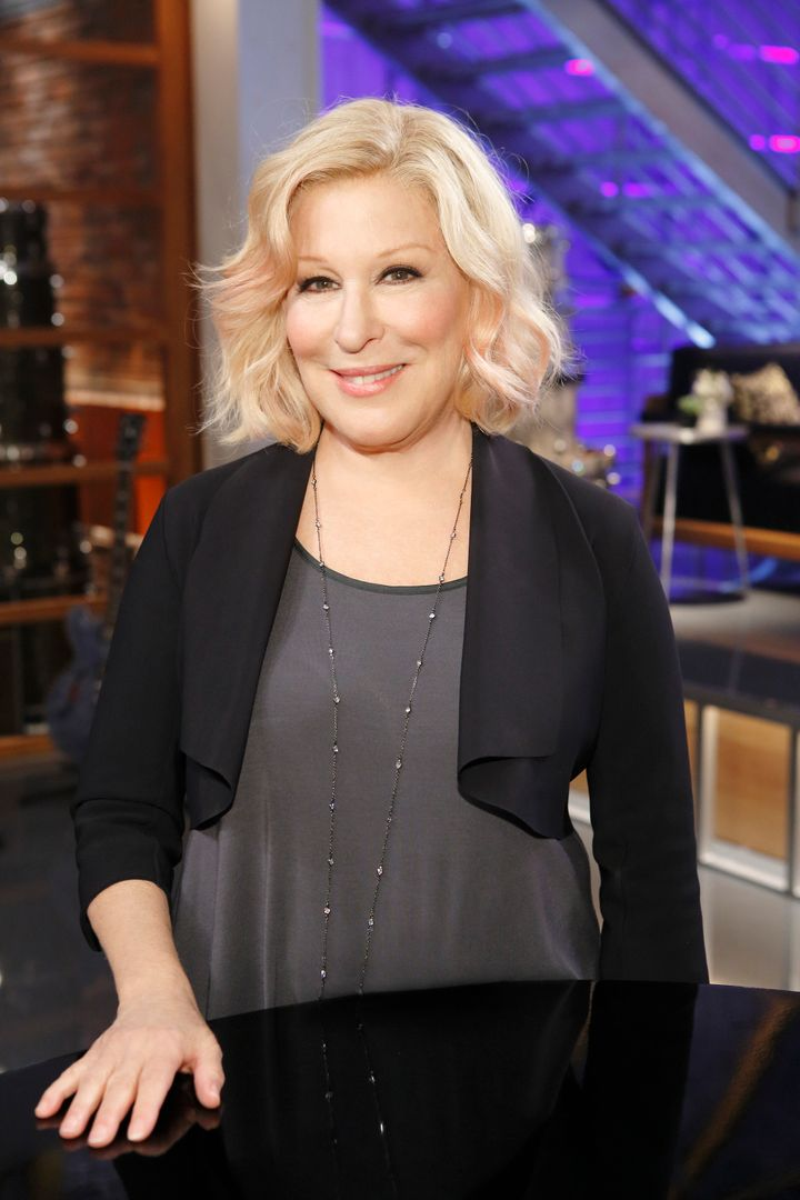 Bette Midler Ditched Her Gray Hair For This Beautiful