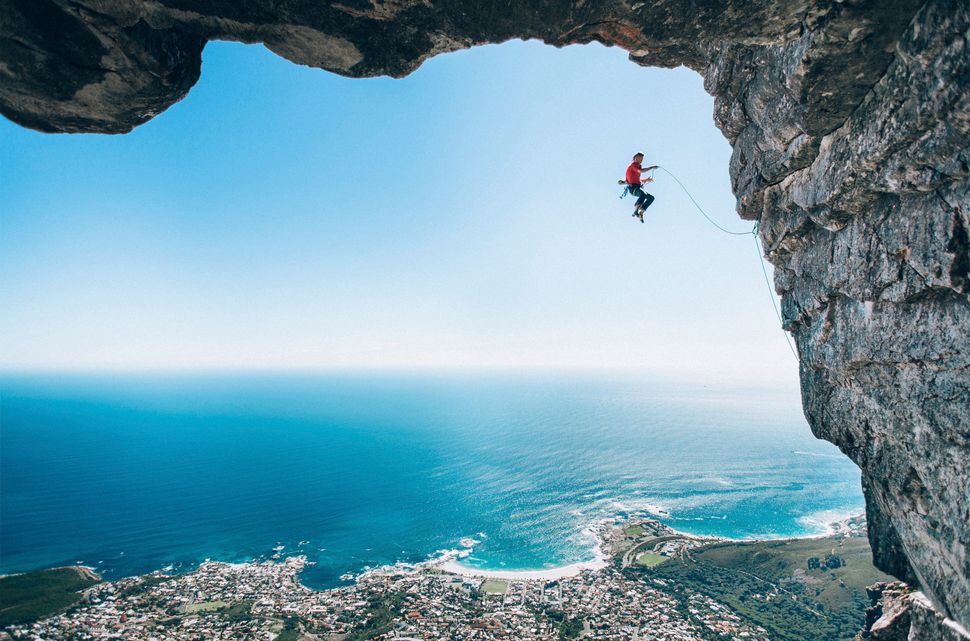 <i>Climber Jamie Smith tackles&nbsp;Table Mountain in Cape Town, South Africa.</i><br><strong><br>Micky Wiswedel:</strong> My