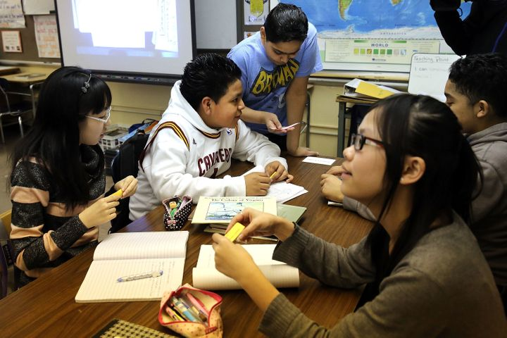 Around 15 percent of New York City public school students are Asian, 27.1 percent are black, 40.5 percent are Latino and