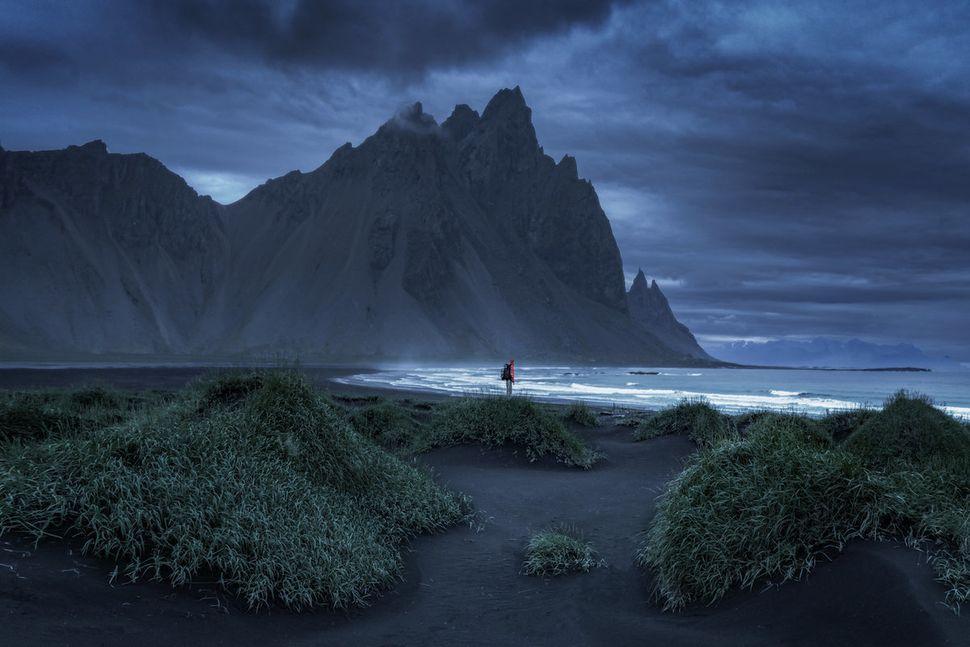 Andrew Studer in Iceland.